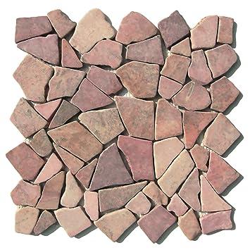 M 002 Marmor Mosaik Bruchstein Fliesen Lager Verkauf Herne NRW Naturstein  Badezimmer Wand Boden Dekoration