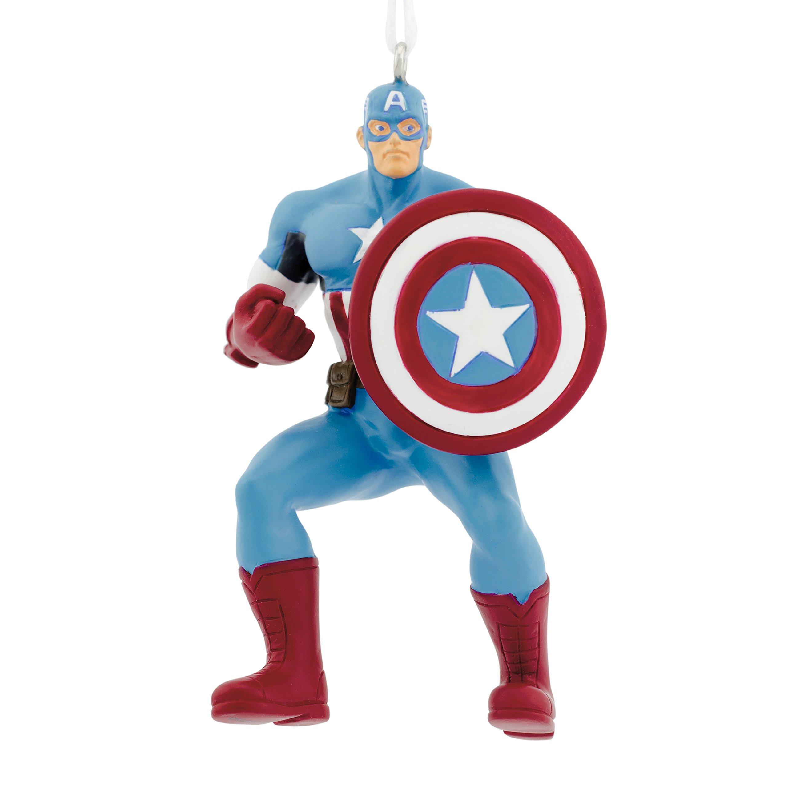 Hallmark Marvel Avengers Captain America Christmas Ornament