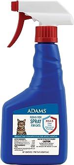 Adams Flea and Tick Spray for Cats, 16 Oz