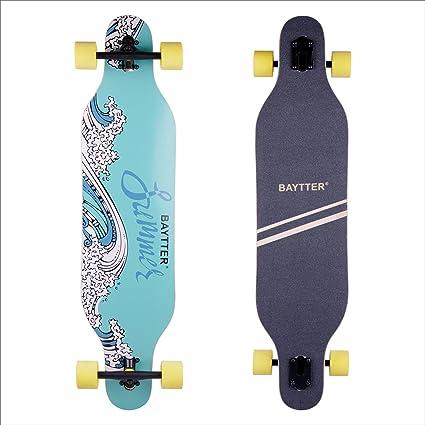 Skateboard Board Skate Komplettboard Funboard Lager ABEC-7 Cruising Board meteor