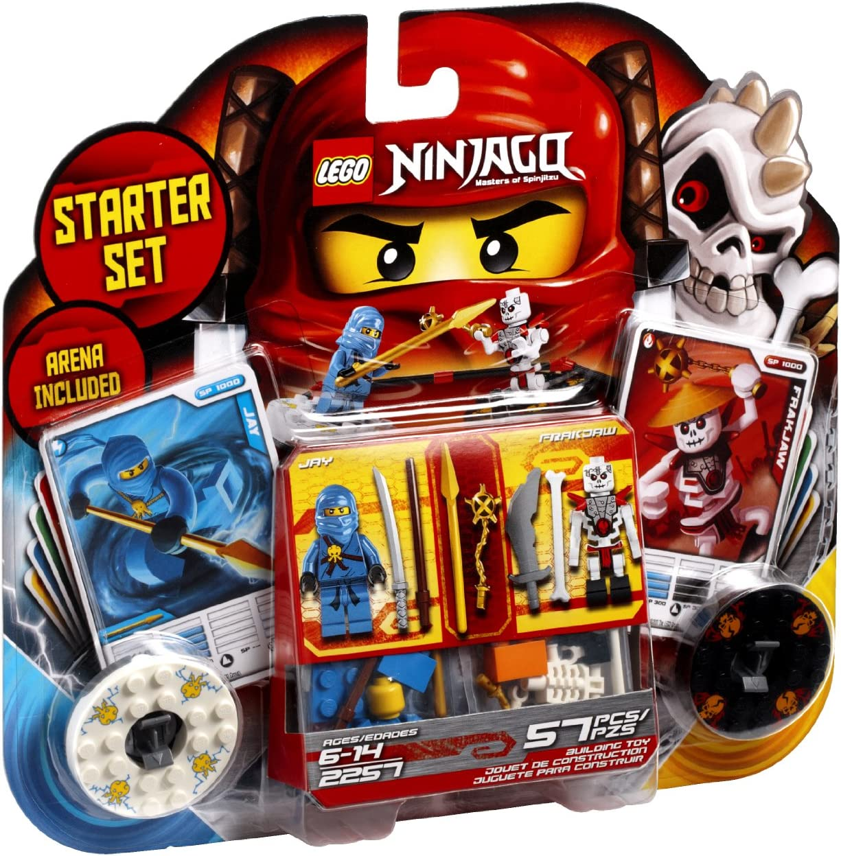 LEGO Ninjago Spinjitzu Starter Set 2257 (Discontinued by manufacturer)