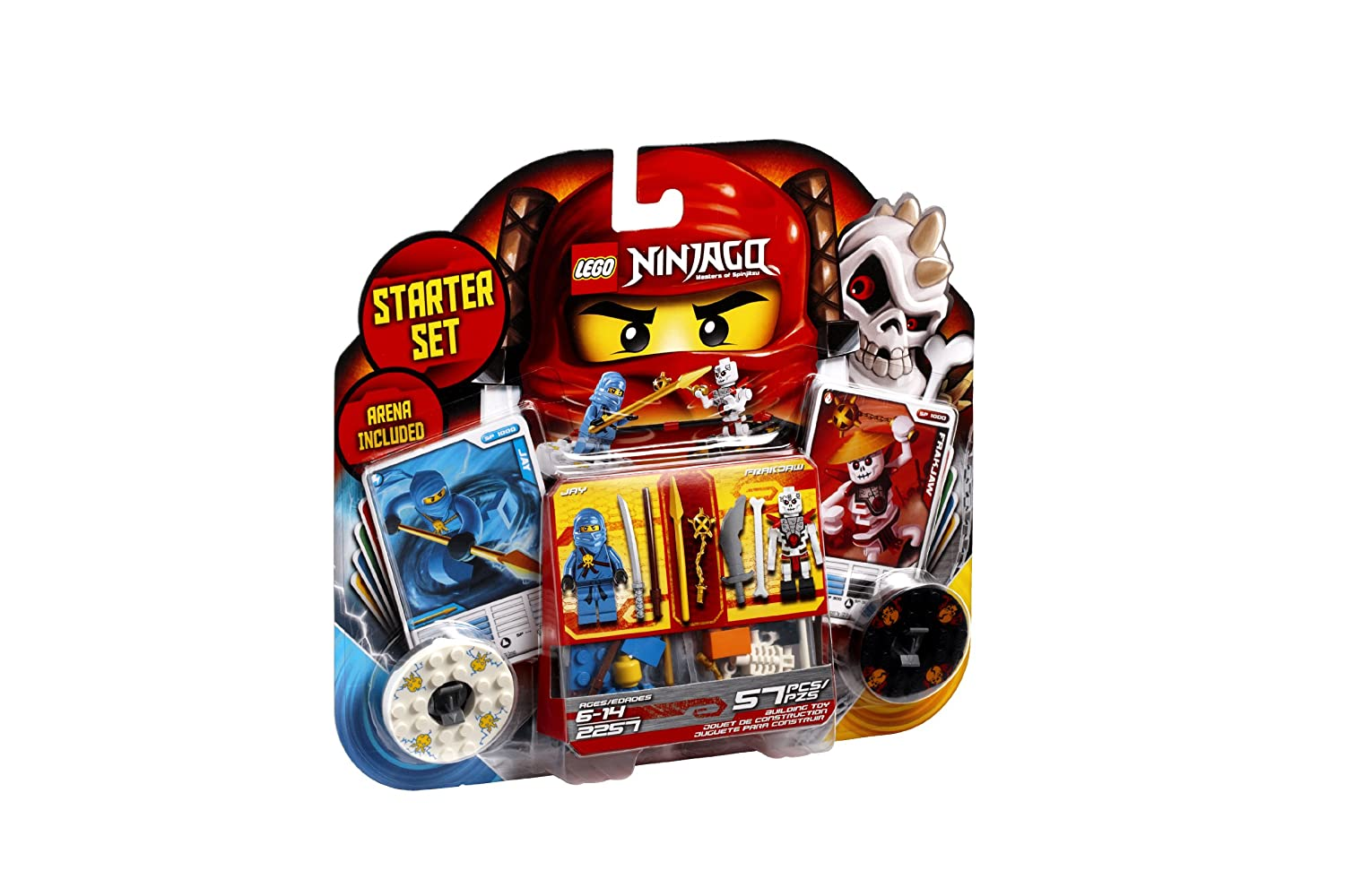 Lego Ninjago Spinjitzu Starter Set 2257 Discontinued By Wiring Harness Decal Omc Manufacturer Toys Games