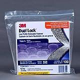 3M Dual Lock Reclosable Fastener TB4575, Black, 1