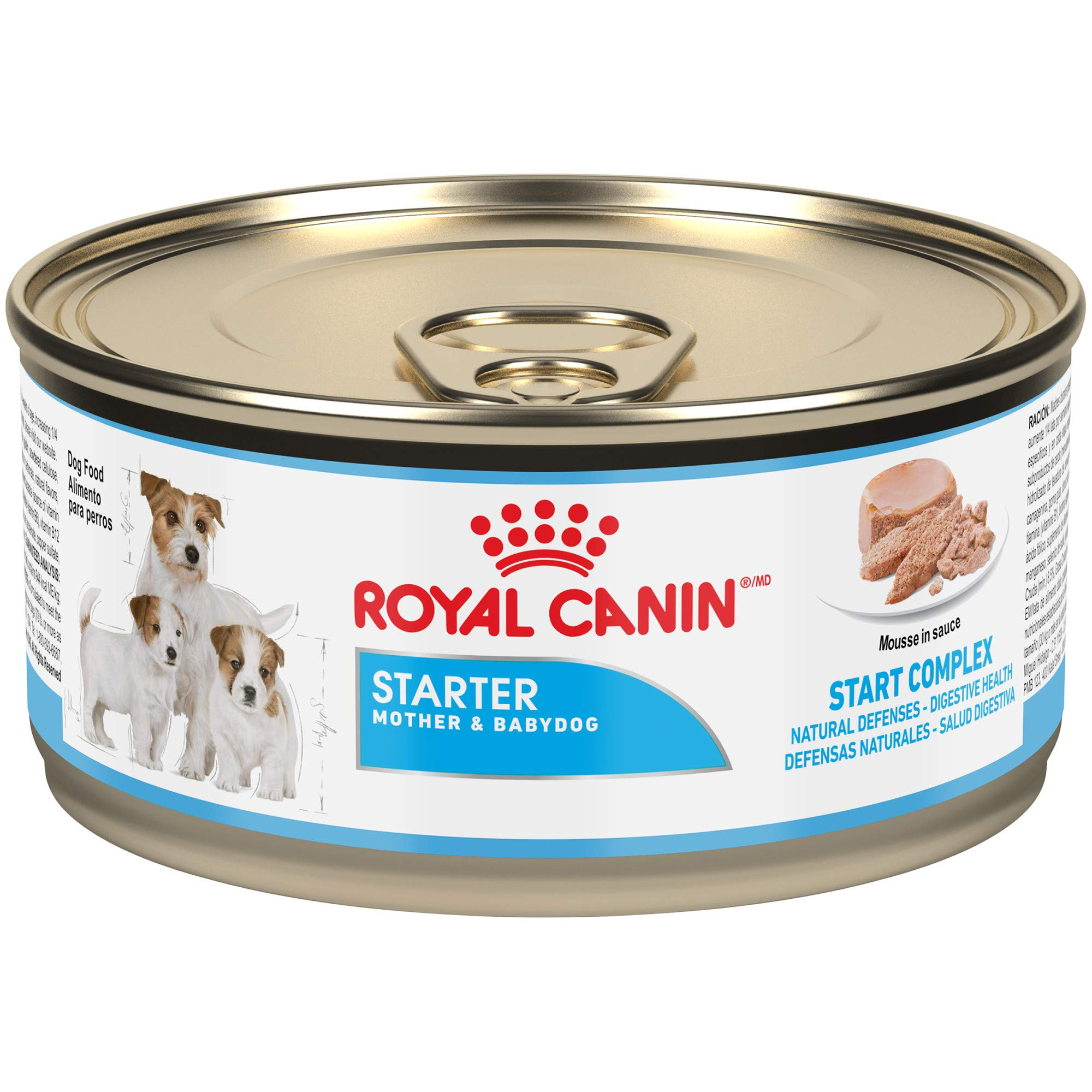 Royal Canin Size Health Nutrition Starter Mother and Babydog Canned Dog Food, 5.8 oz (Pack of 24) by Royal Canin