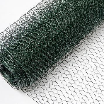 Grillage Métallique pour Cloture Maillage Hexagonal : 13x13mm ...