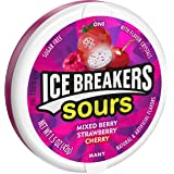 Ice Breakers Sours Sugar Free Mixed Berry Candy 8 Pack (1.5 oz per Pack)