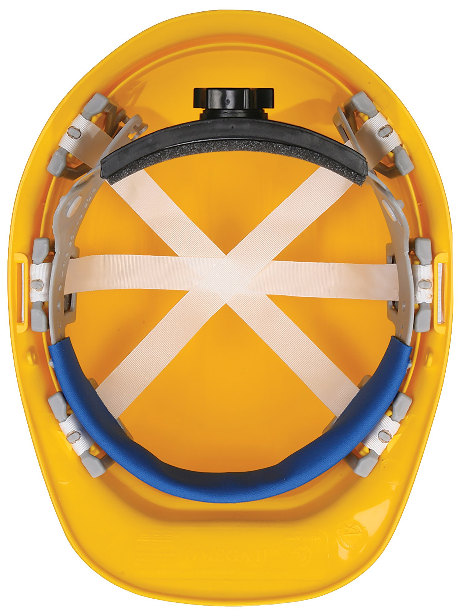 ERB 19124 Safety 305 Replacement Brow Pad Hardhats, One Size, Blue