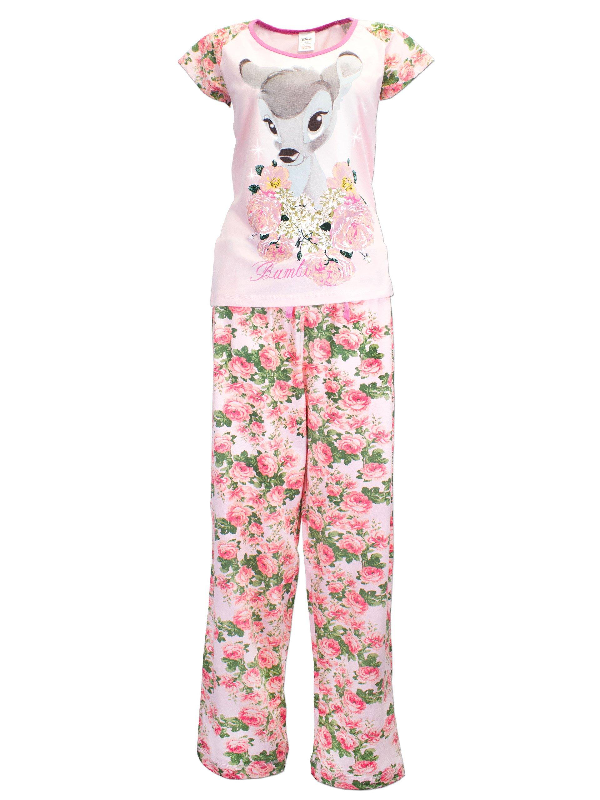 Bambi Womens' Disney Bambi Pajamas Large