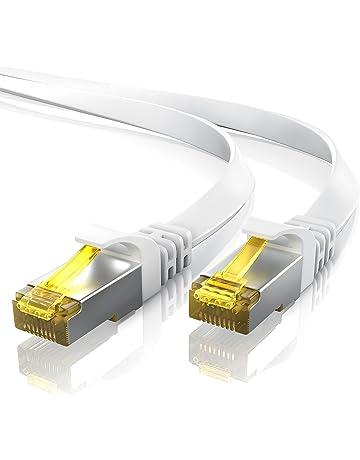Primewire 20m Cable de Red Cat.7 Plano – Cable Ethernet |Gigabit LAN 10000