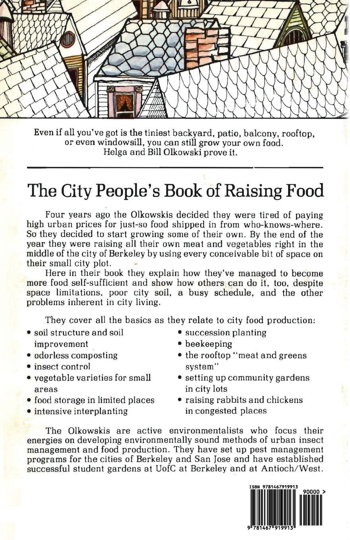city people u0027s book of raising food helga olkowski william
