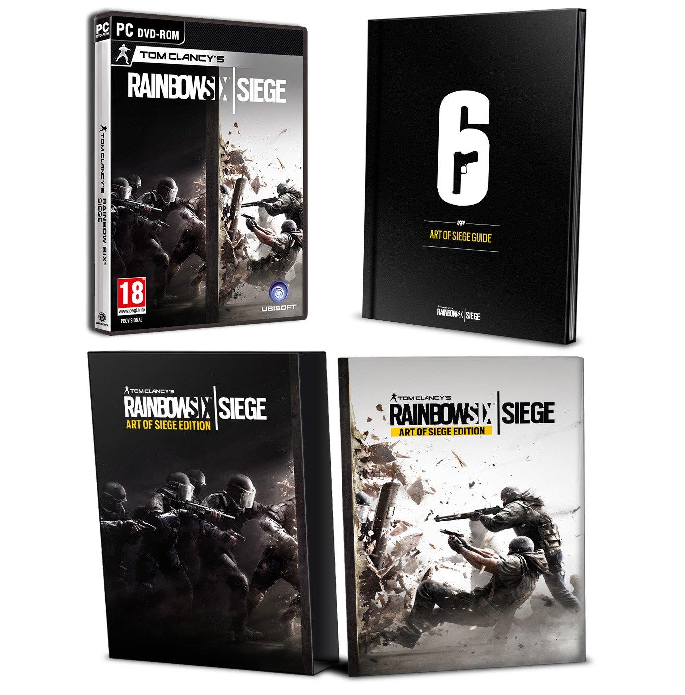 Tom Clancy's Rainbow Six Siege- Art of Siege Edition (PC DVD