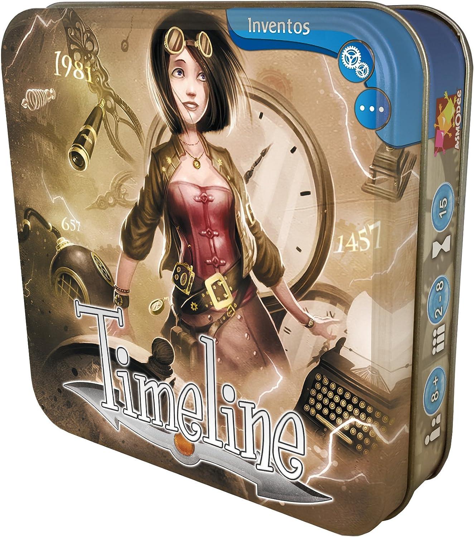 Asmodee- Timeline Inventos (HAZTIME01): Amazon.es: Juguetes y juegos