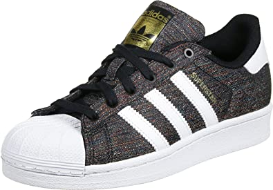 best loved 674f3 3c854 adidas Originals Superstar J Sneaker S80137 Multicolor White Gr. 35,5 (UK