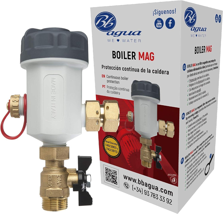 Filtro Boiler Mag para protección continua de la Caldera. Bbagua (GS300006)