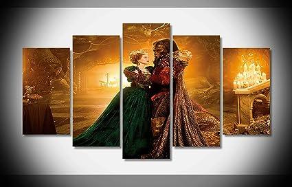 Amazoncom Canvas Deco 5pcs La Belle Et La Bete Belle Lea Seydoux