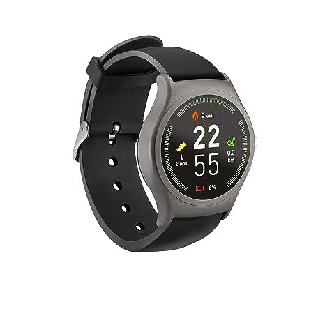 """acme SW201 Reloj Inteligente Negro, Gris IPS 3,3 cm (1.3"""")"""