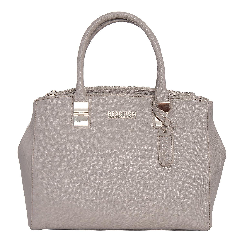 b0c1b019f3 Kenneth Cole Reaction KN1659 Arbol Dome Satchel (STONYBROOK)  Amazon.co.uk   Shoes   Bags