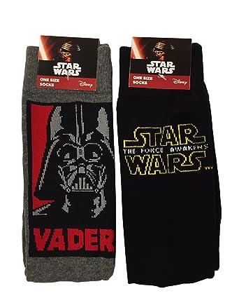 Star Wars The Force Awakens Men/'s Novelty Socks UK SIZE 6-11