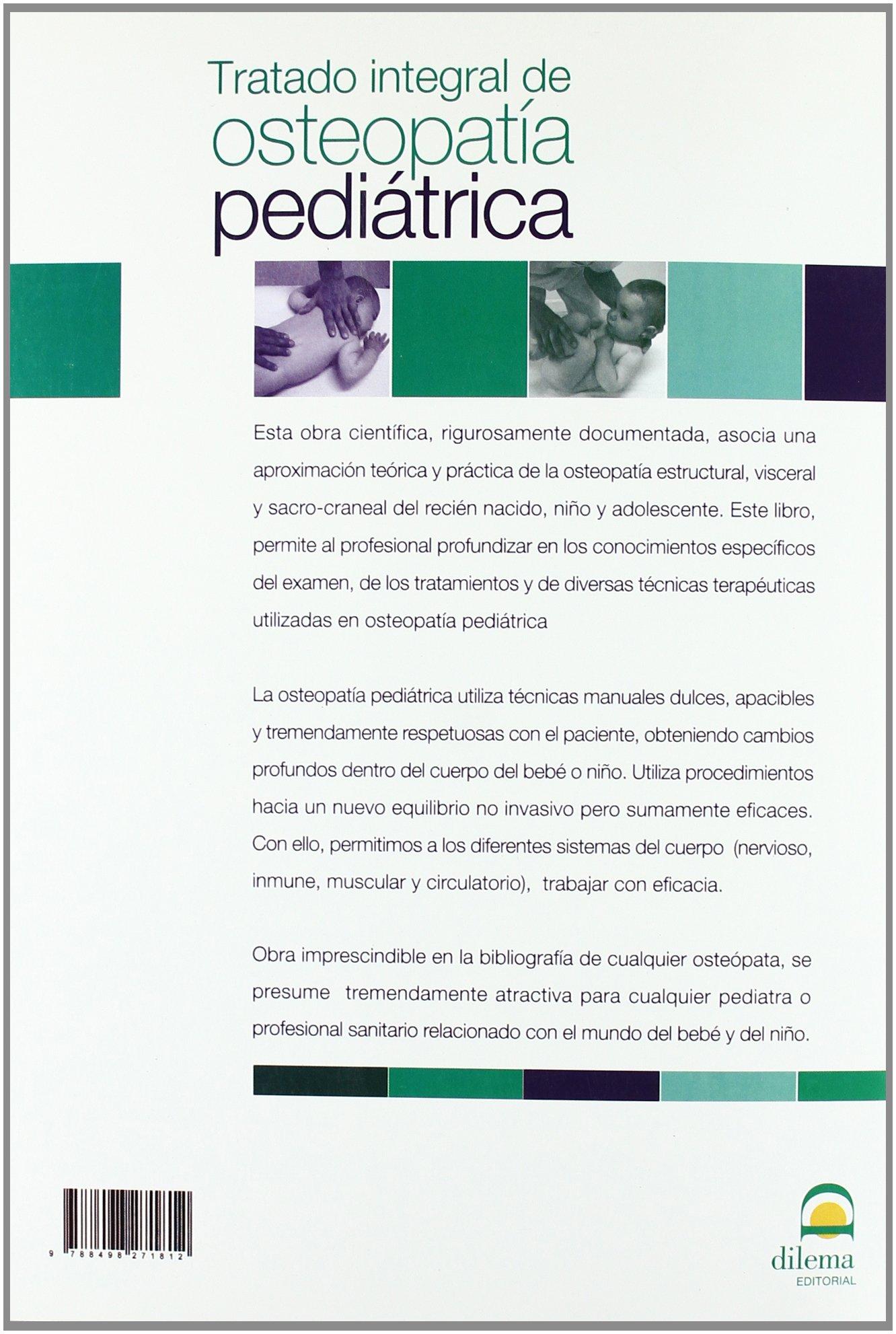 TRATADO INTEGRAL DE OSTEOPATÍA PEDIÁTRICA 3ª Edición (Spanish ...