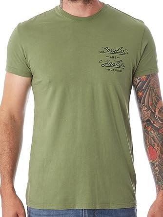 Troy Lee Designs T-Shirt Nationals Loden Grun (Small , Grun)