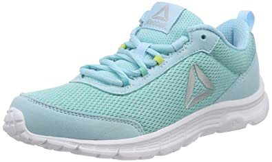 Reebok Damen Speedlux 3.0 Laufschuhe, Blau (Blue Lagoon/Solid Teal/Electric Flash/White/Silver/Shadow), 42 EU