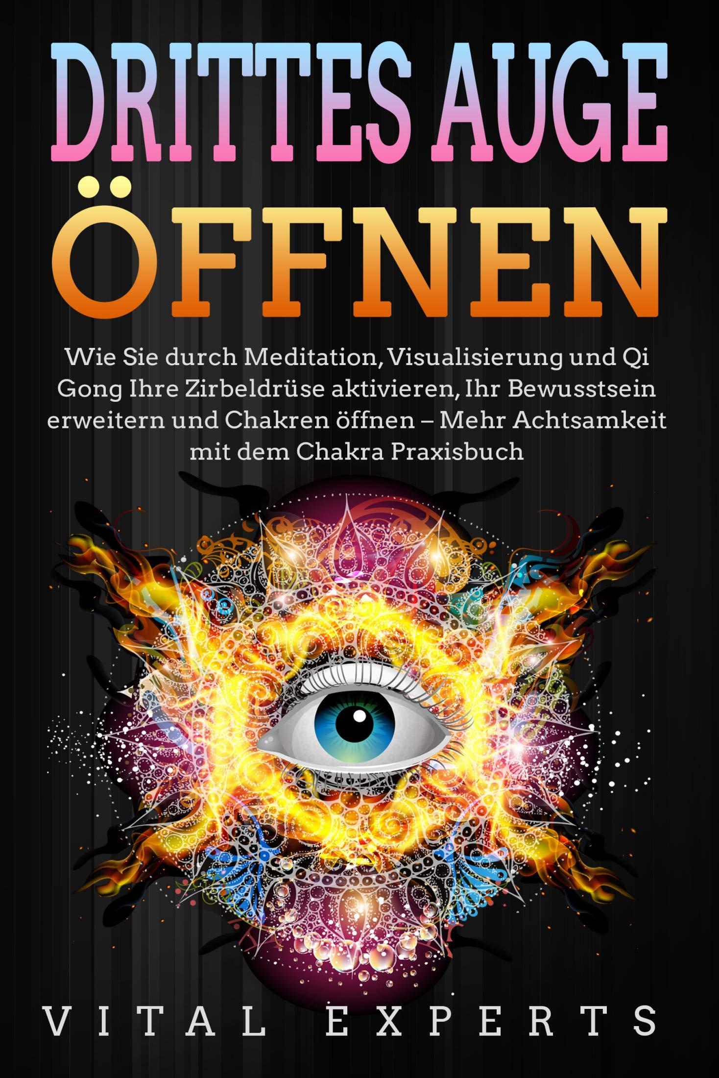 DRITTES AUGE ÖFFNEN  Wie Sie Durch Meditation Visualisierung Und Qi Gong Ihre Zirbeldrüse Aktivieren Ihr Bewusstsein Erweitern Und Chakren öffnen   Mehr Achtsamkeit Mit Dem Chakra Praxisbuch