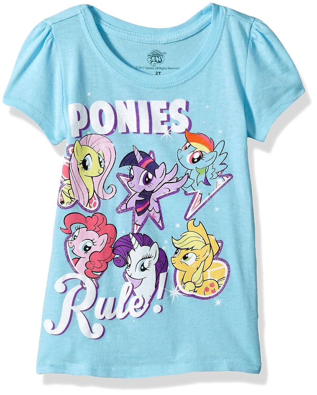 My Little Pony girls Toddler Girls Best Friends Forever Short Sleeve Puff Tee Freeze Children' s Apparel LJSTE73-2T52