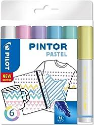 "PILOT PINTOR M - 6er Set ""Pastell"""