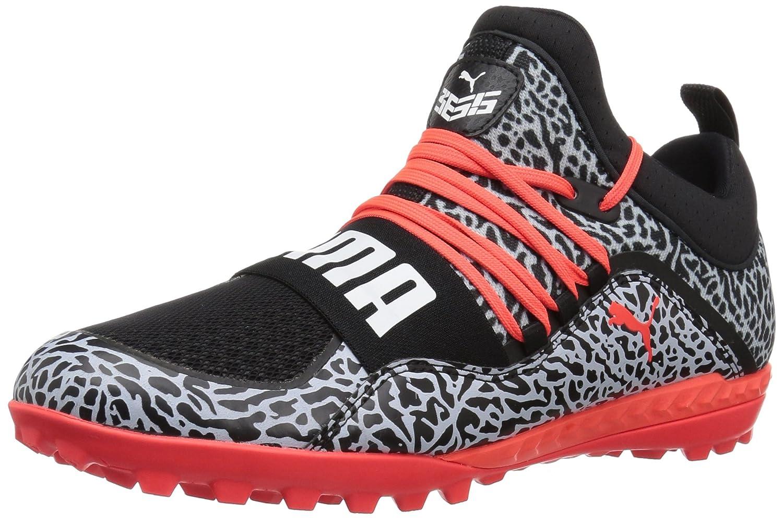PUMA Men's 365.18 Ignite Texture ST Soccer Shoe B072QW22LZ 8.5 D(M) US|Puma Black-red Blast-puma White