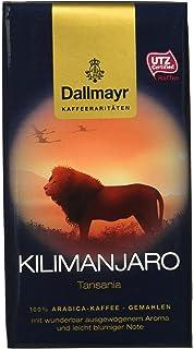 7181bdd798 Dallmayr Kaffee Kaffeerarität Kilimanjaro Filterkaffee, gemahlen, HVP, 4er  Pack (4x 250 g