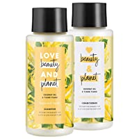 Love Beauty And Planet Shampoo and Conditioner for Damaged Hair Coconut Oil and...