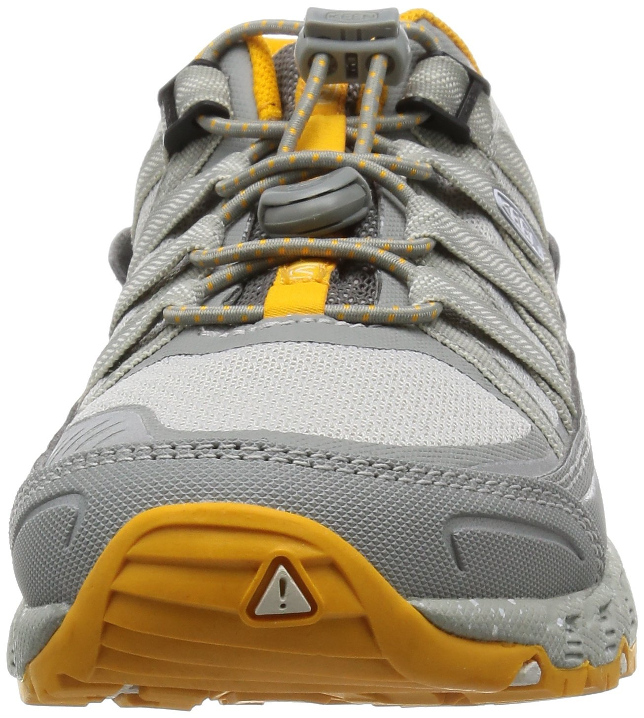 KEEN Women's Versatrail Shoe B012TQB7TA 10.5 B(M) US Neutral Gray/Saffron