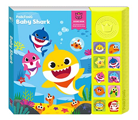 f1bd990af Amazon.com  Pinkfong Baby Shark Official Sound Book  Pinkfong  Toys   Games