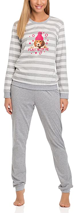 Cornette Pijama Conjunto Camiseta y Pantalones Mujer 671 2016