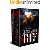 Clockwork Thief: Books 1-3 book cover