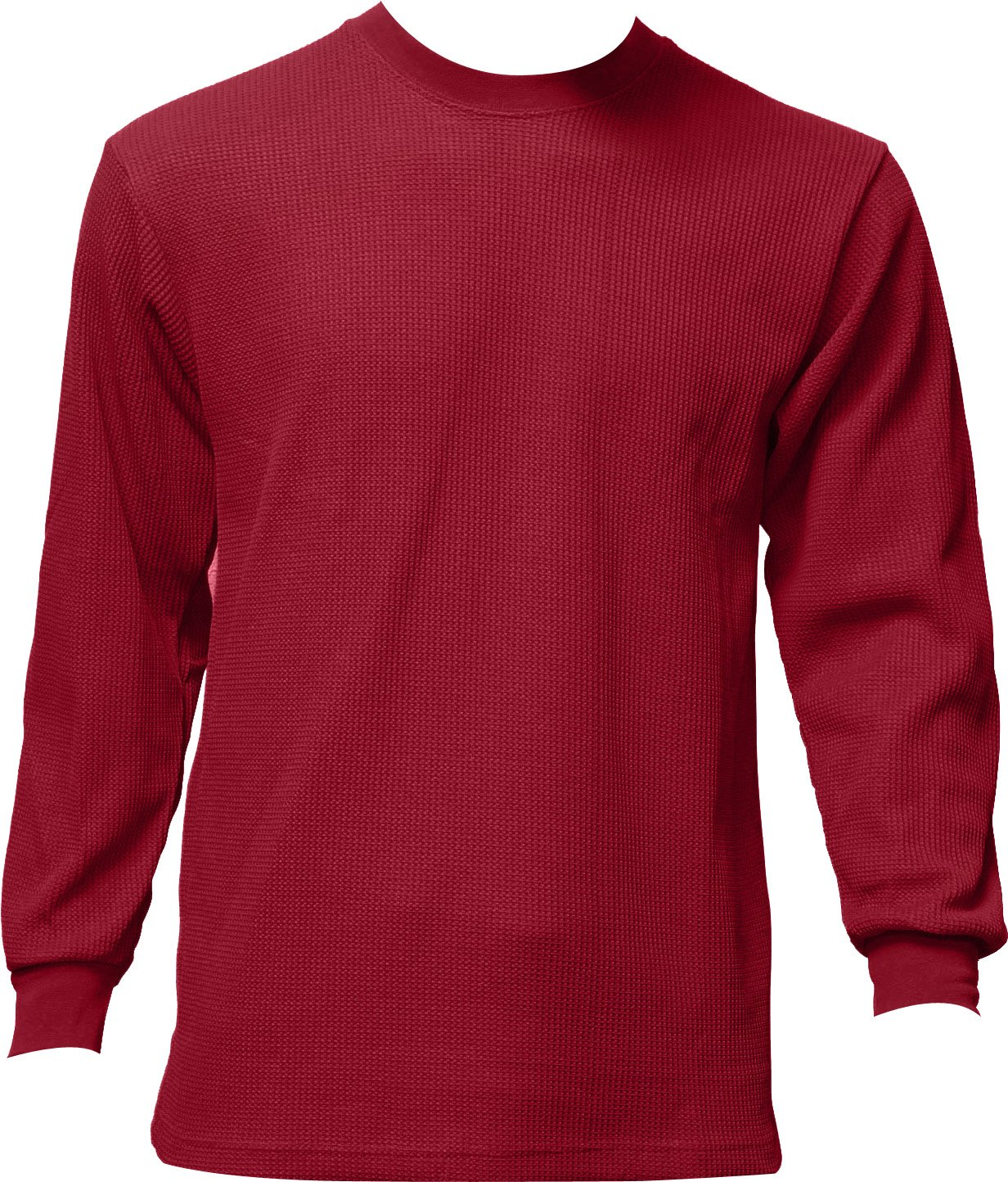 Men's Heavyweight Waffle Thermal Long Sleeve Crew Neck Top at Amazon Men's  Clothing store: