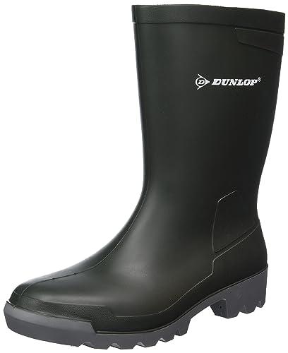 Dunlop W486711.AF HOB-KUIT GROEN 42, Unisex-Erwachsene Langschaft Gummistiefel, Grün (Grün(Groen) 08), 42 EU