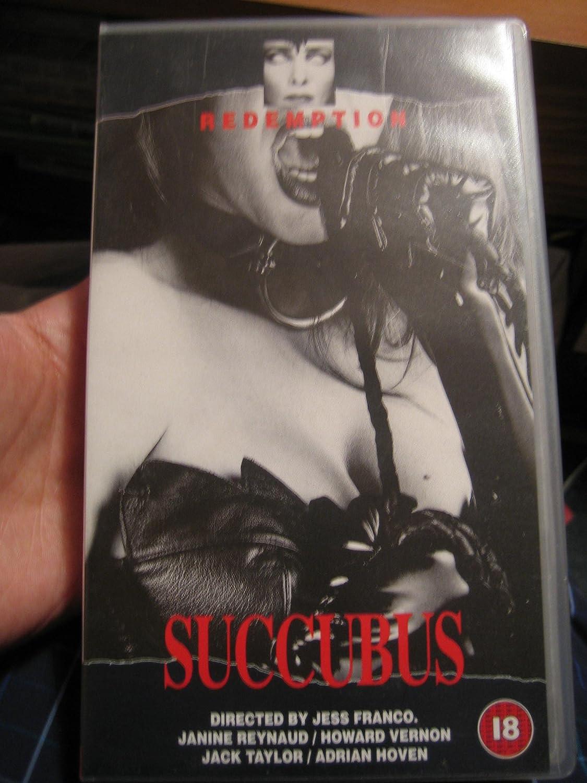 Succubus VHS Janine Reynaud Jack Taylor Howard Vernon Nathalie Nort Michel Lemoine Adrian Hoven Jesus Franco Amazoncouk Video