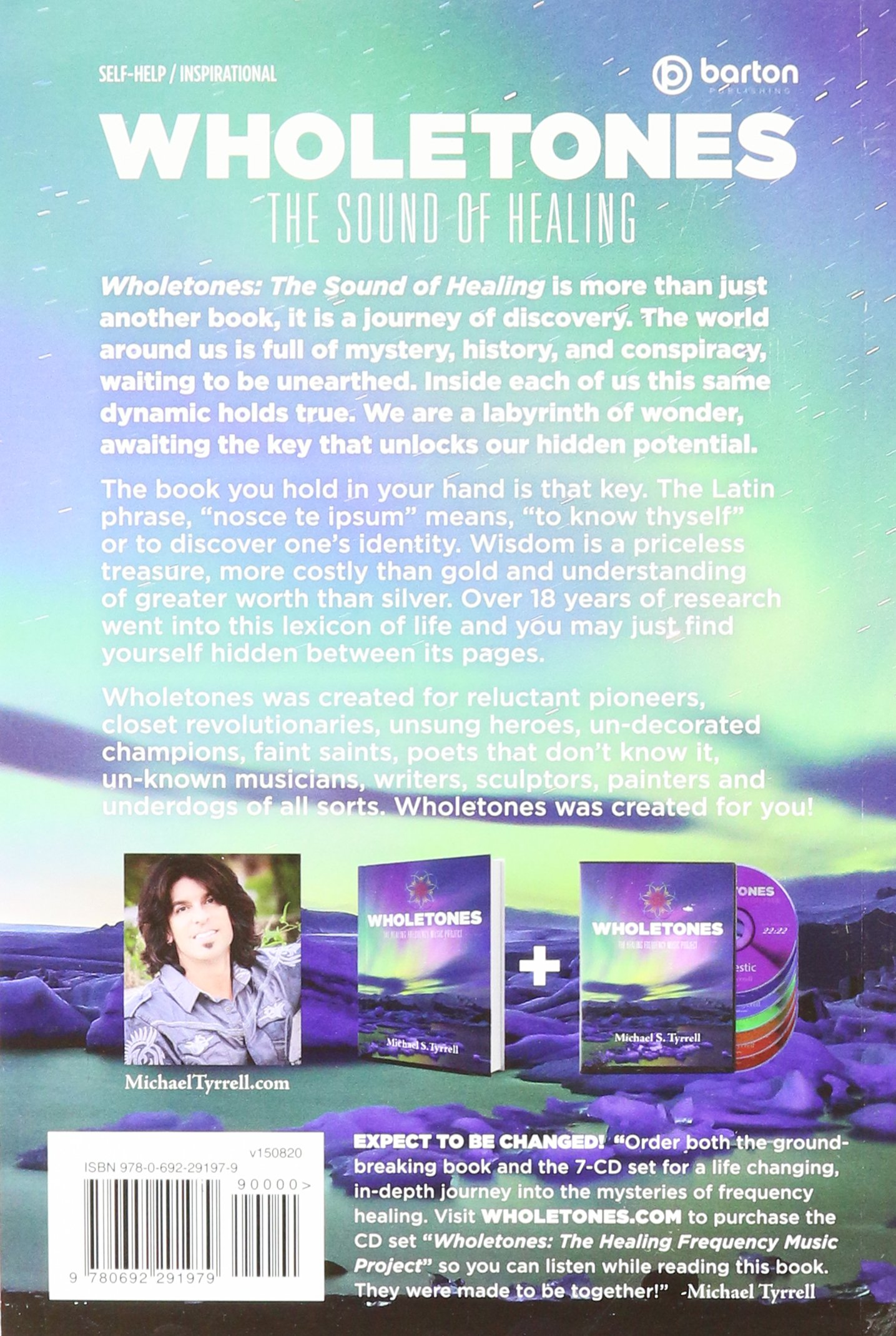 wholetones the healing frequency music project