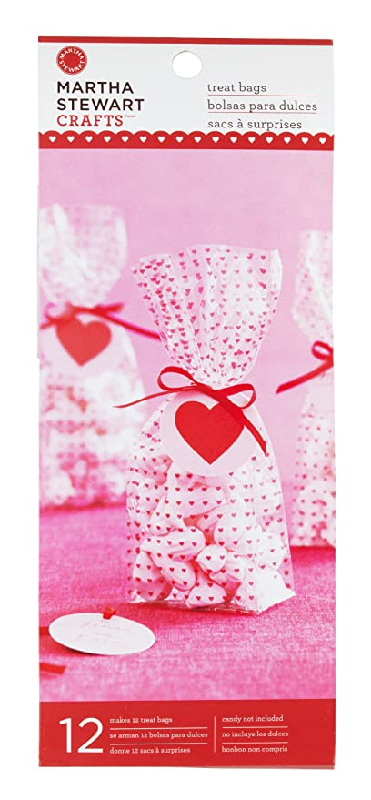 Amazon Com Martha Stewart Crafts Mini Hearts Treat Bags Arts