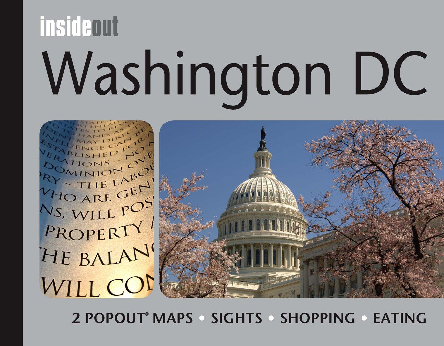 Washington DC Inside Out PopOut Products  Amazon - Washington dc popout map