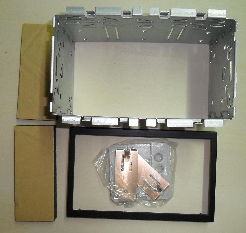 DIN5/DIN Radio Frame 2/ISO MOUNT KIT 182/x 113mm
