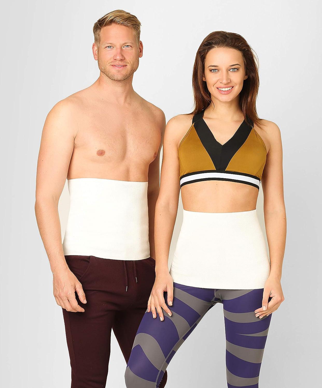 ®BeFit24 Faja Tubular Termica Lumbar Calor Elástico para Mujer y Hombre - Cinturon Termico de Lana de Angora y de Merino [ Size 4 ]