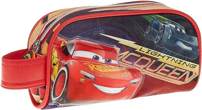 Cars 3 Estuche portatodo, Color Rojo, 20 cm (Karactermanía 32476): Amazon.es: Juguetes y juegos
