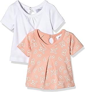Twins - 112802/AMZ, T-shirt da bimba, pacco da 2