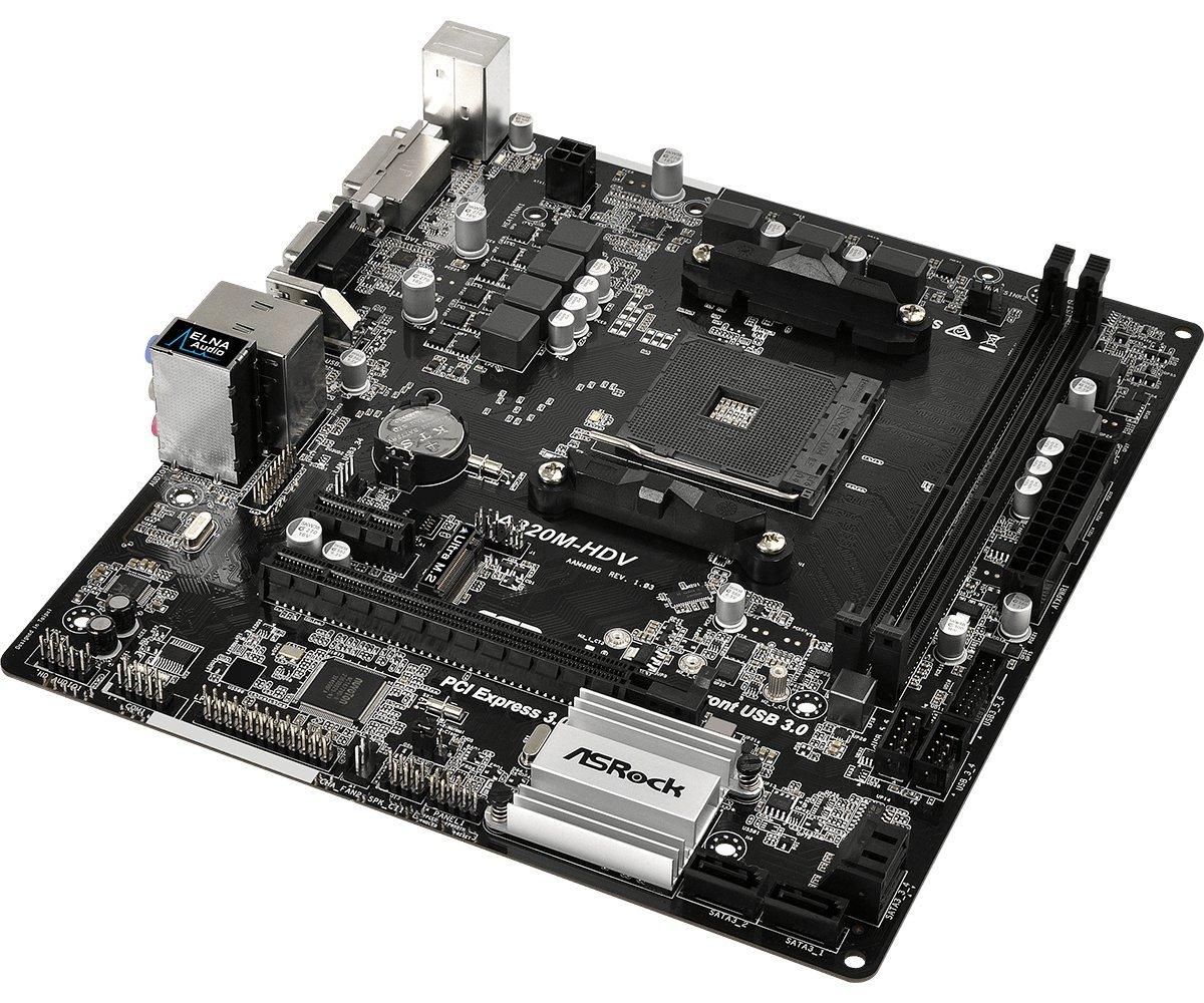 Amazon Com Asrock A320m Hdv Motherboard Computers Accessories