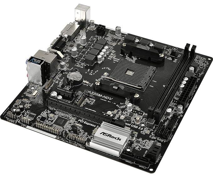 Amazon.com: ASRock A320M-HDV Motherboard: Computers ...
