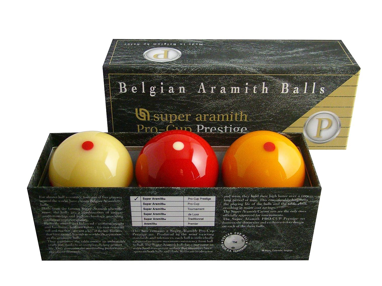 Aramith Carom bolas Prestige.: Amazon.es: Deportes y aire libre