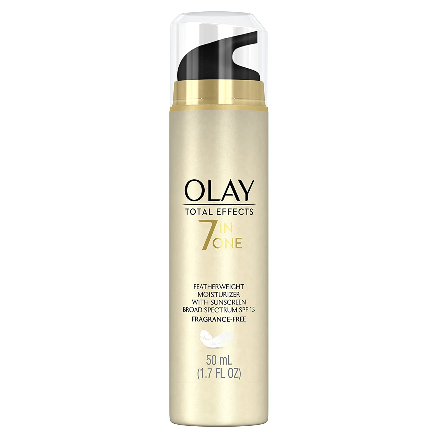 Olay Total Effects Fragrance Free Featherweight Moisturizer with SPF 15, 1.7 Fluid Ounce by Procter & Gamble - HABA Hub