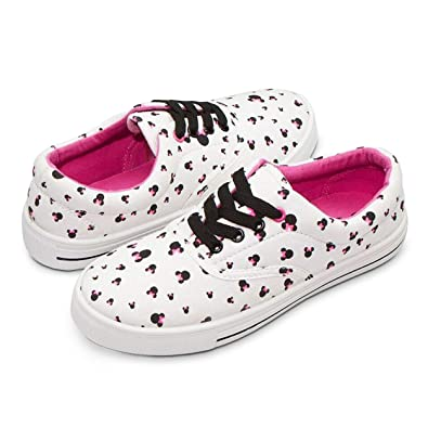 fdbdcc6ee27 Disney Junior Teen Women Low Top Mickey   Minnie Fashion Sneakers - Rubber  Soled Pink Multi